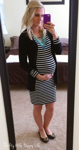 93fe9430ea72d Thrifty Wife, Happy Life: Making the Most of your Favorite Maternity Clothes