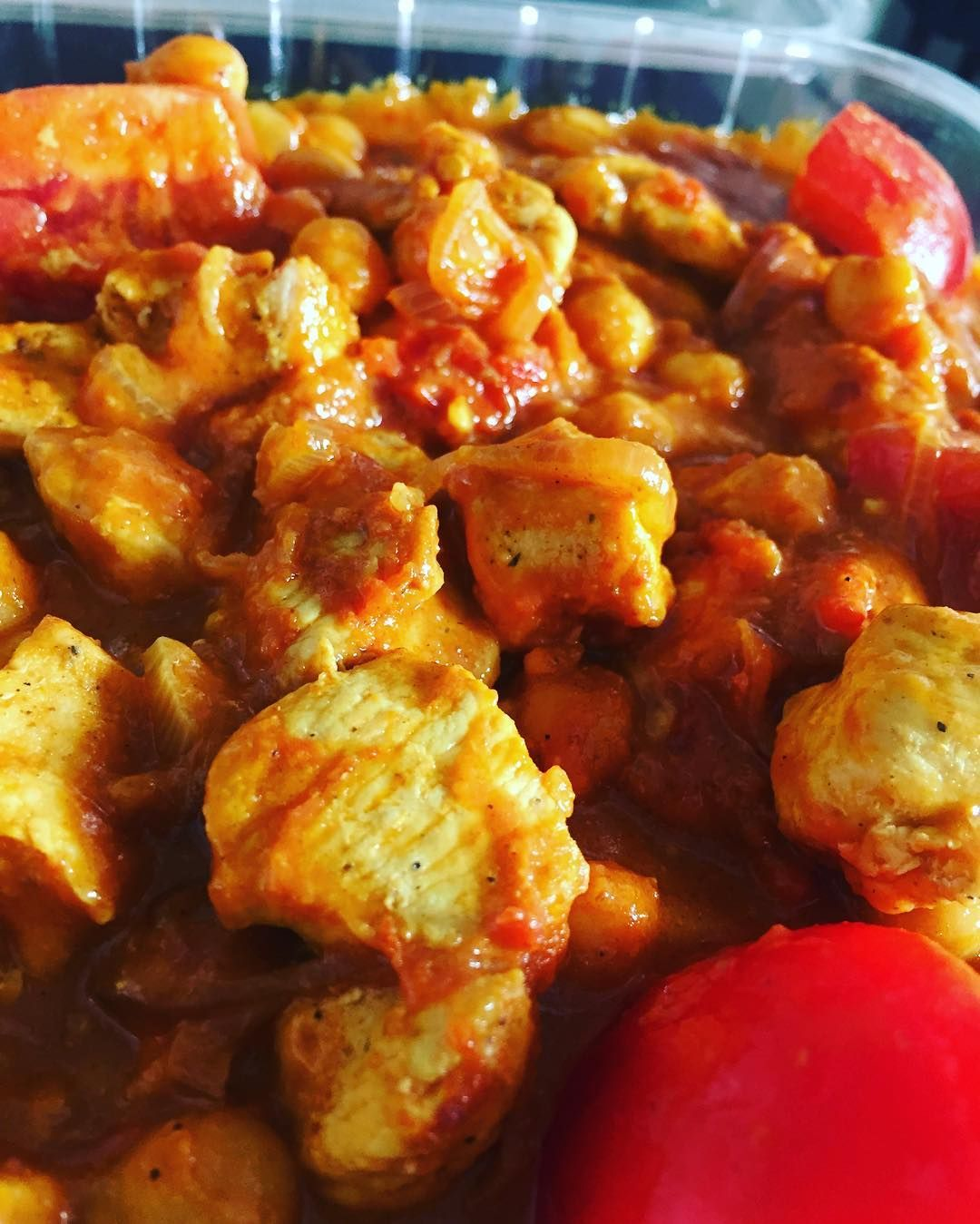 This Chicken Amp Chickpea Curry Is Divine Available On Our