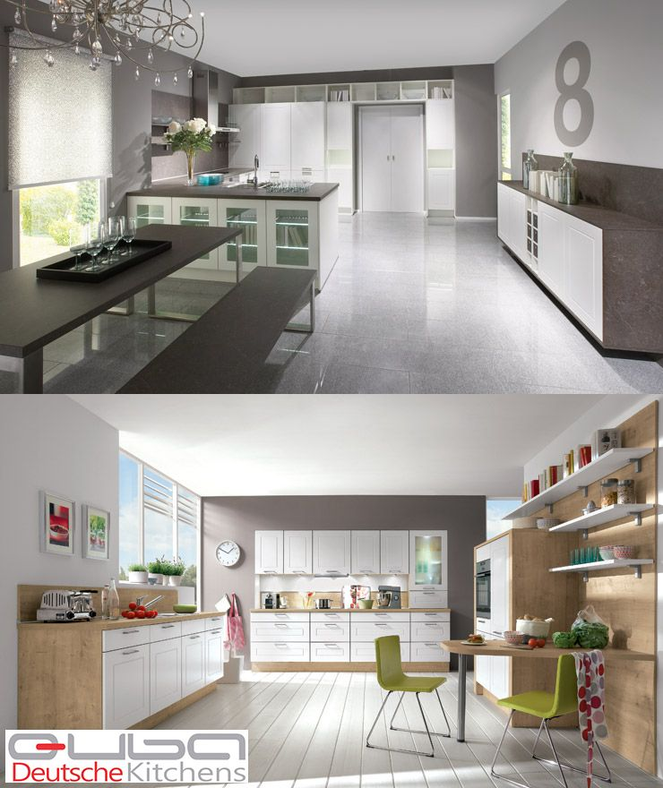 When one thinks of #traditionalkitchens or country kitchens, one thinks of wood – natural wood, stained wood, painted wood. And traditional kitchens have cathedral doors, or shaker doors, and glass fronted doors, and perhaps ornate pelmets.