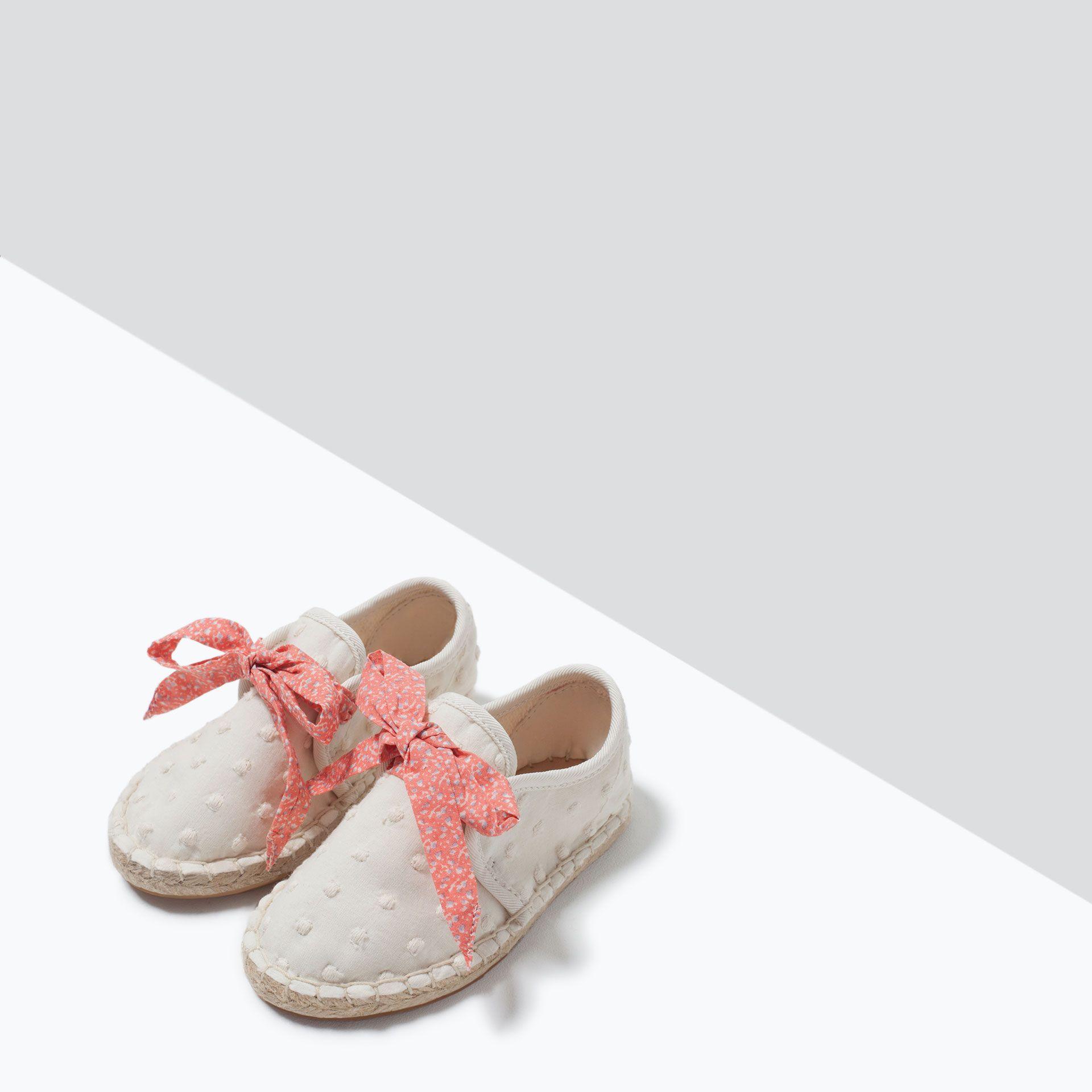 ZARA - KIDS - LACE-UP ESPADRILLE SNEAKERS | Toddler ...