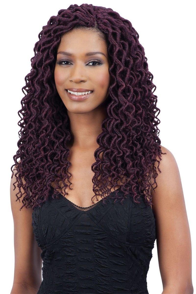 Freetress Braid PreLooped Crochet 2X SOFT CURLY FAUX LOC