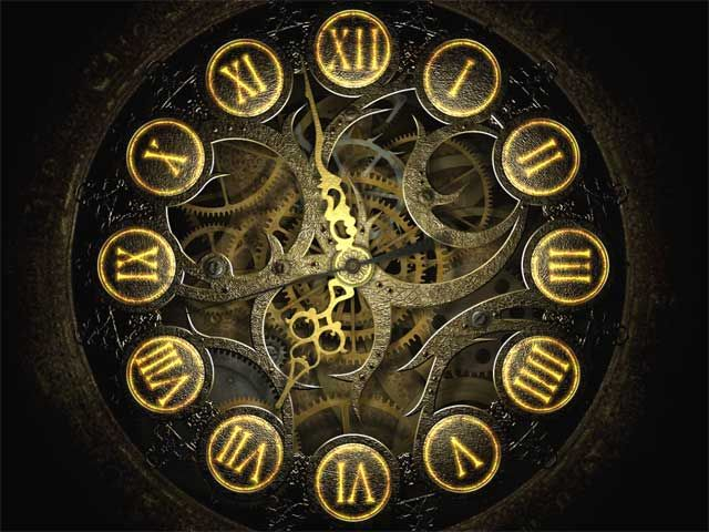 antique, clock, Roman Numerals, gears | Art, Beauty and