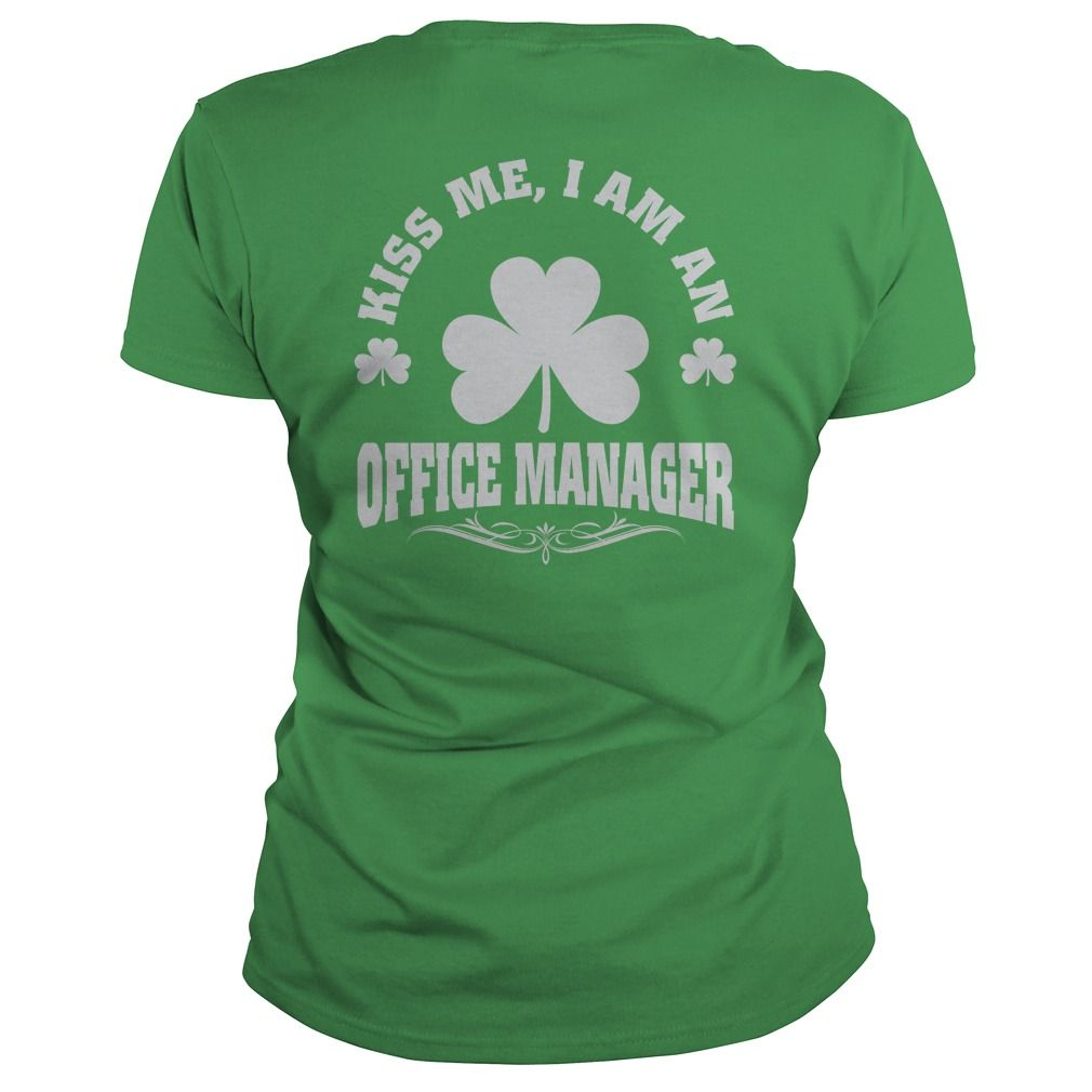 Kiss Me I Am A Office Manager T Shirt, Hoodie Office Manager