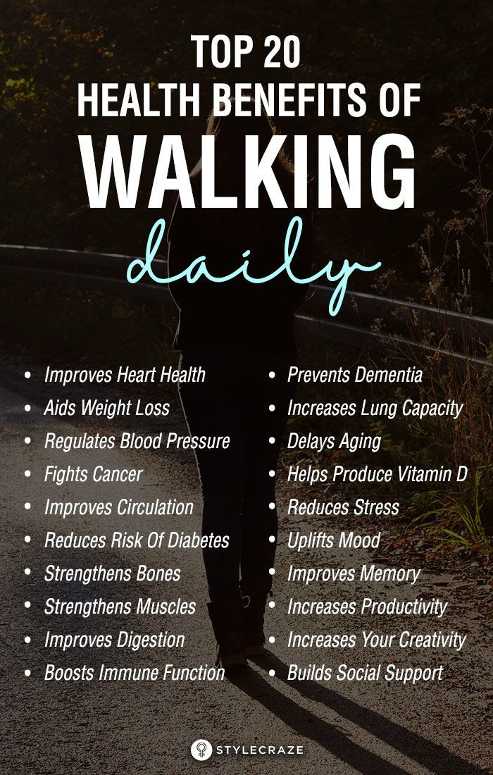 most health professionals prefer walking over running as it is a lowimpact exercise that goes easy on your heart and joints Read on find out about the 20 health benefits...