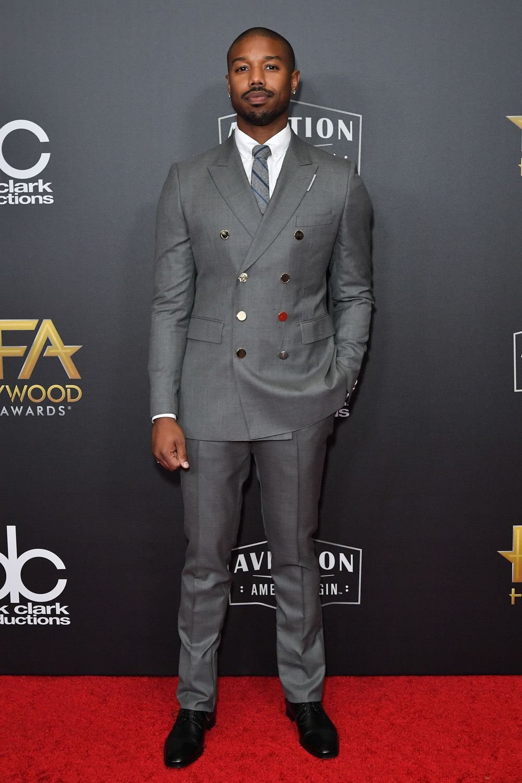 2018 Hollywood Film Awards Red Carpet — PICS | Black mens ...