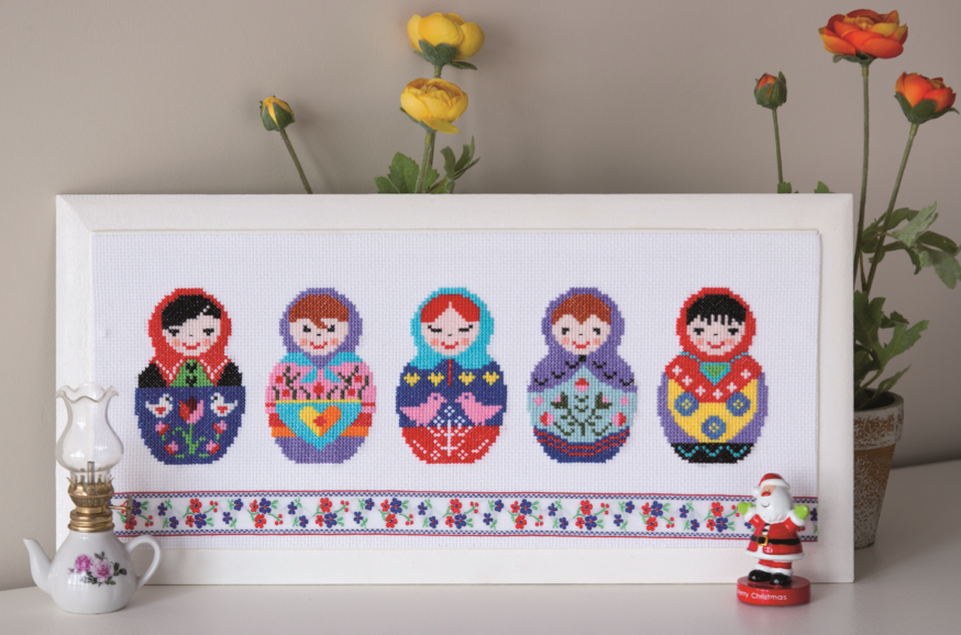 Designed and stitched by filiz t rkoca matryoshkas - Matrioska in terapia ...