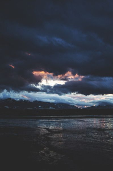 Dark Blue Tumblr Landscape Photography Nature Photography Landscape
