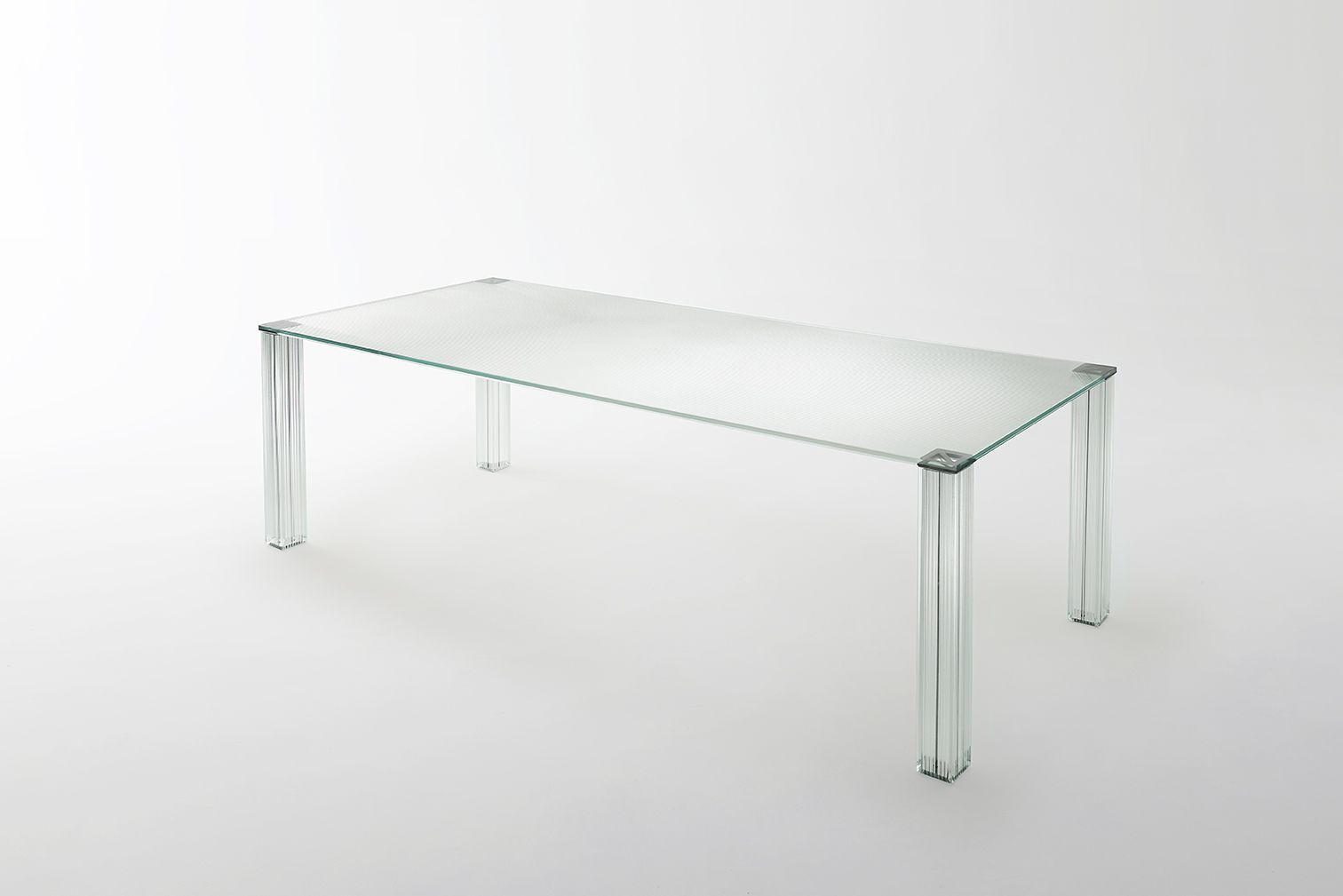 CRYPTEE' high and low tables design jean Nouvel