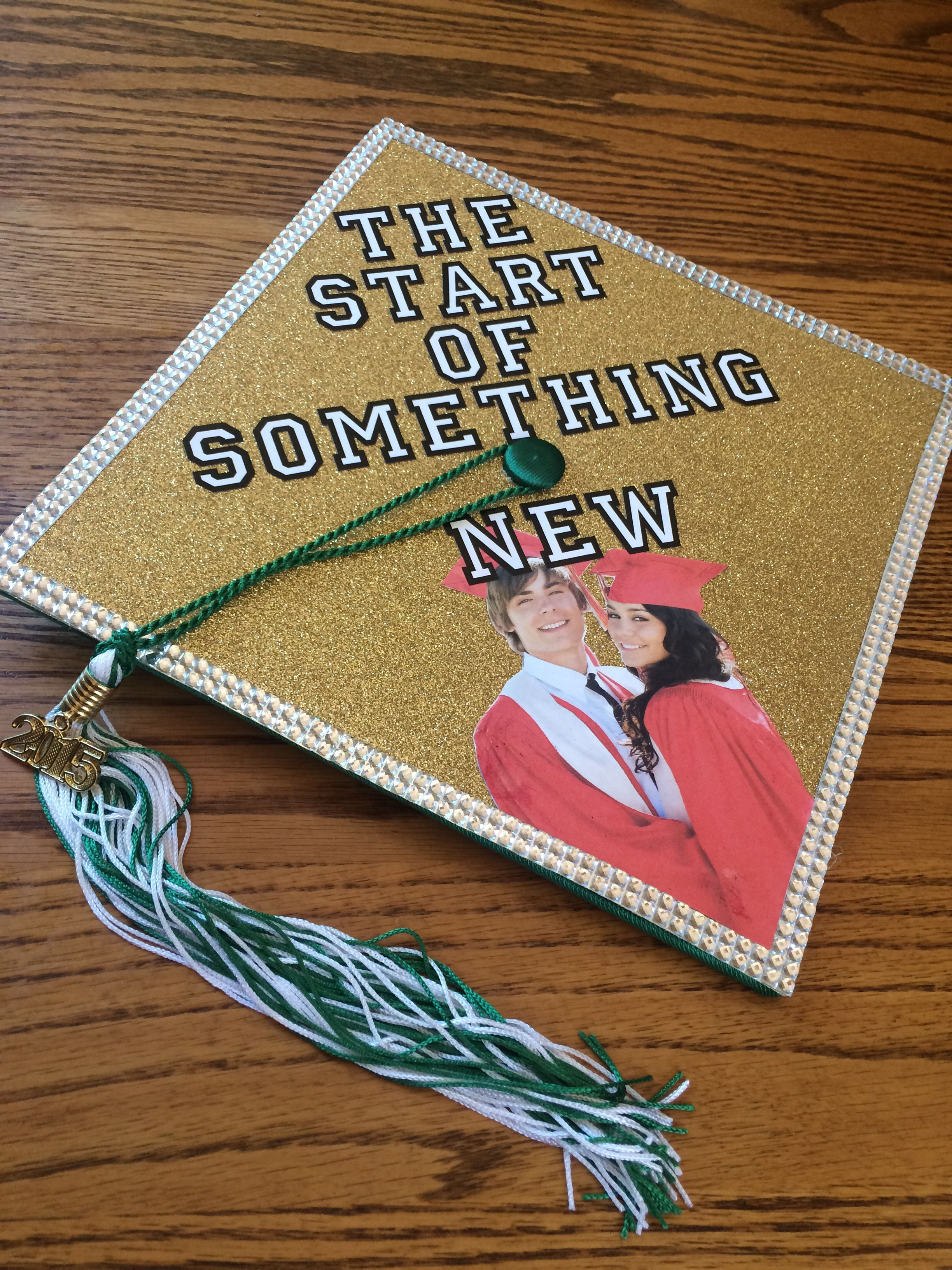 My High School Musical Graduation Cap Diy Disney Graduation Cap