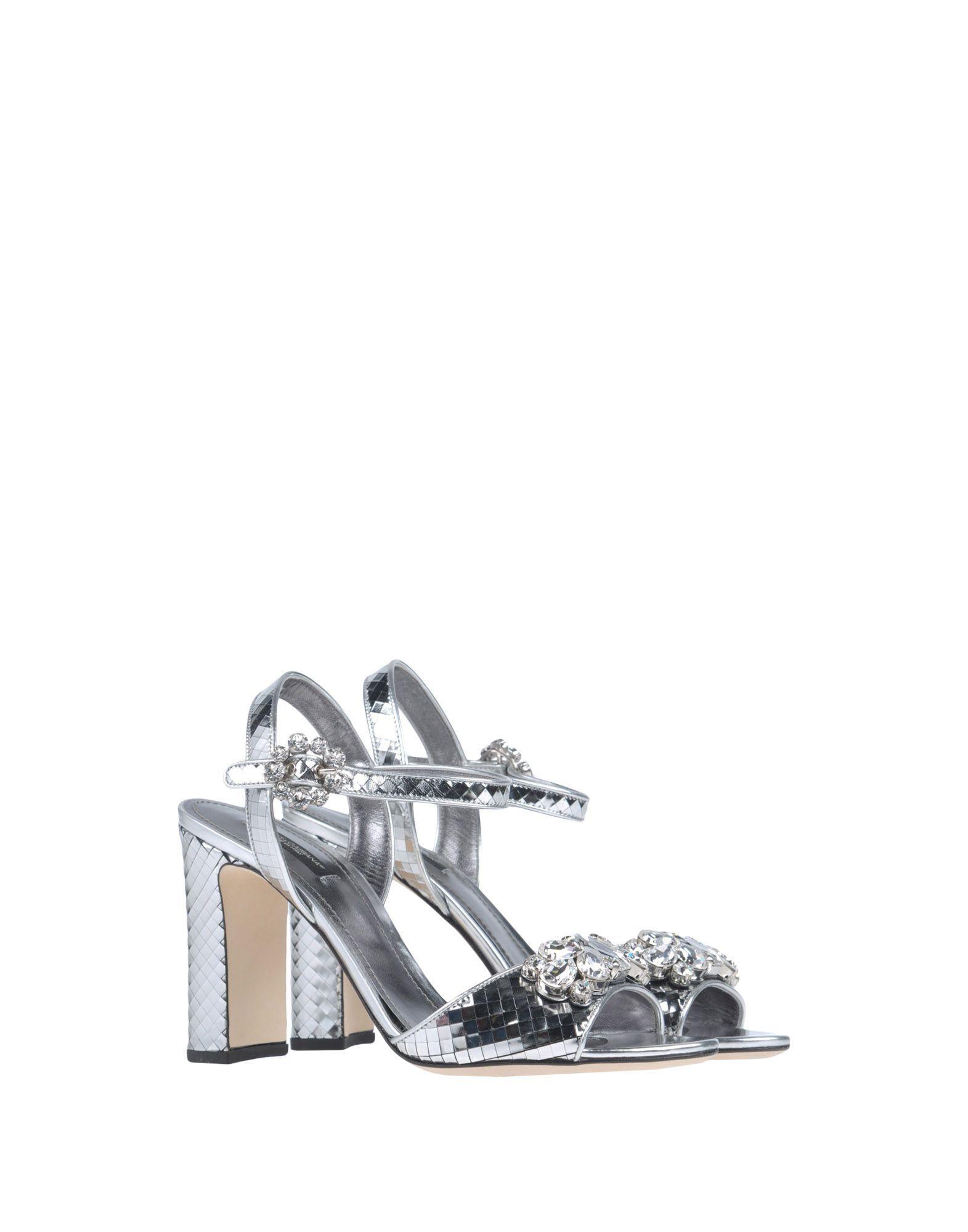 57bed3e73d7 Πέδιλο Dolce & Gabbana Γυναίκα - Πέδιλα Dolce & Gabbana στο YOOX -  11390569OI