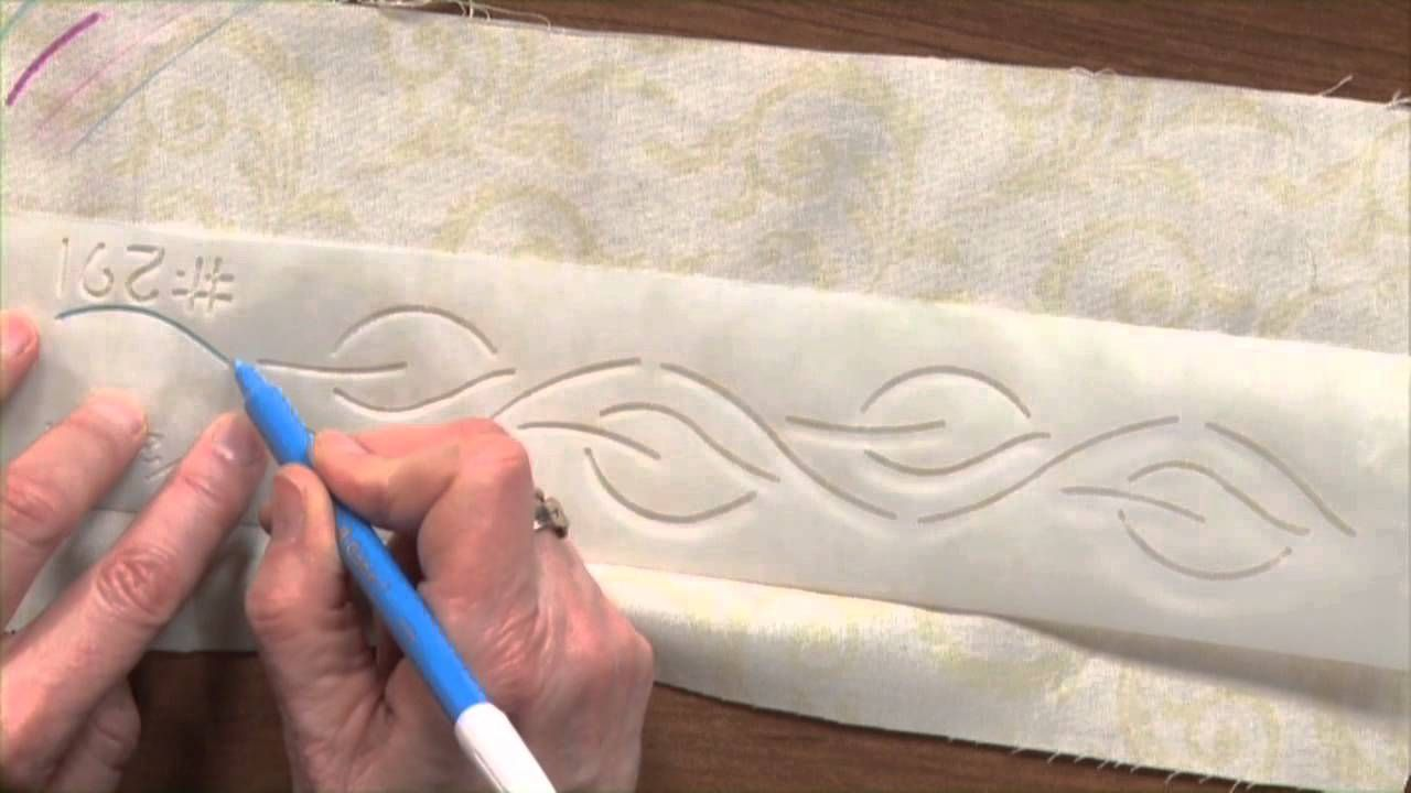 How To Mark A Quilt And Quilt Marking Tools National