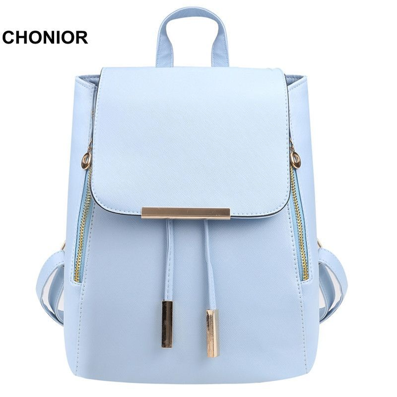 a3ddc3a770 Fashion Womens Backpacks Leather School Bags Rucksacks for Teenager  Shoulder Bags Satchel Girls Ladies Designer Backpack Bolsas