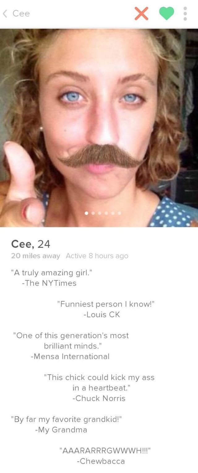 20 Funniest Tinder Profile on That are Hilarious