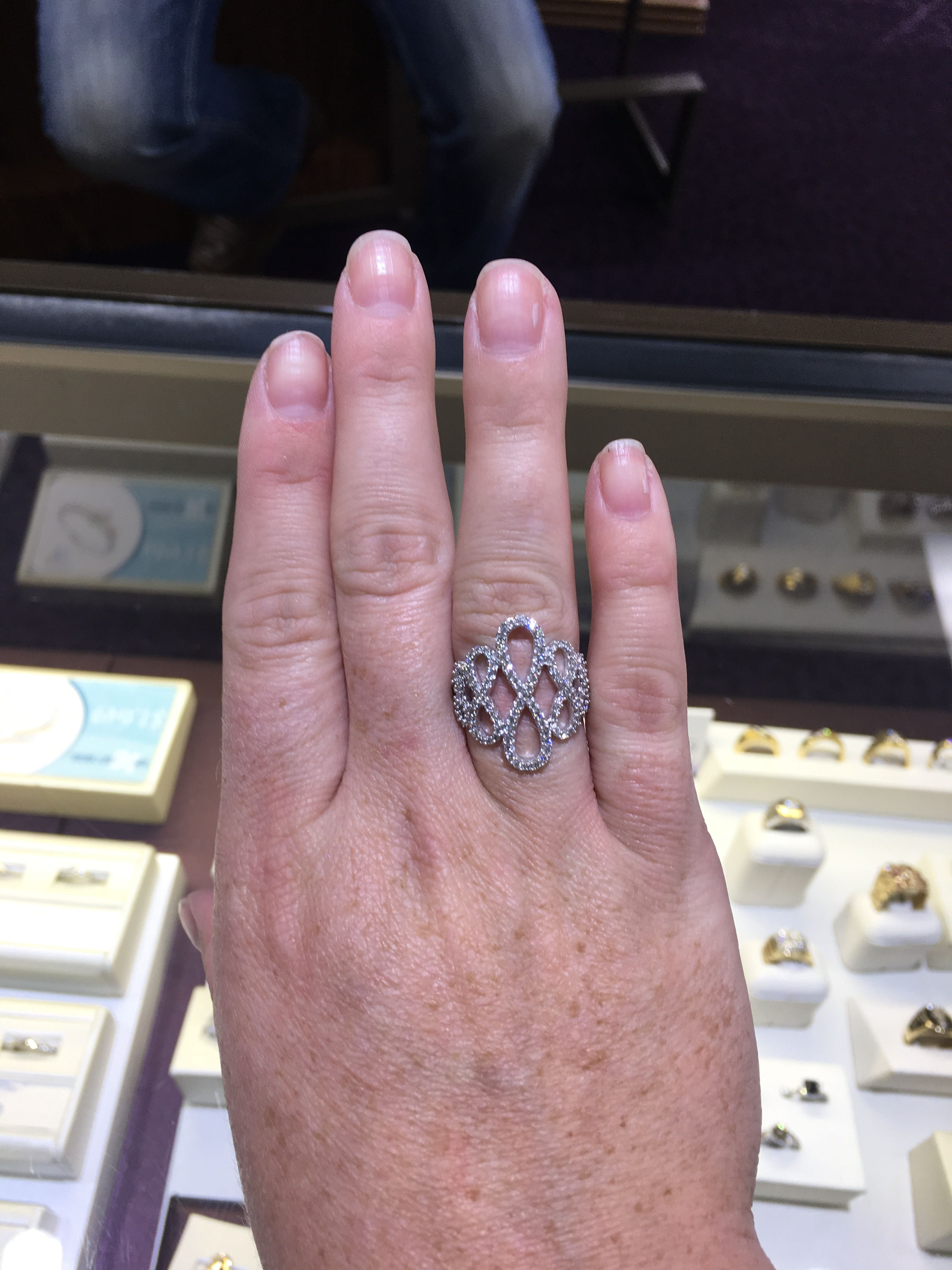 Multi infinity diamond fashion ring | Fashion rings | Pinterest ...