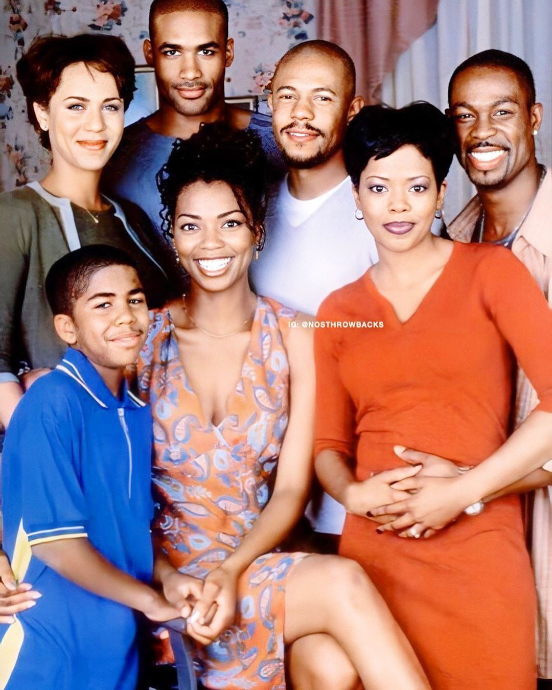 The Cast Of Soulfood Television Series 2000 2004