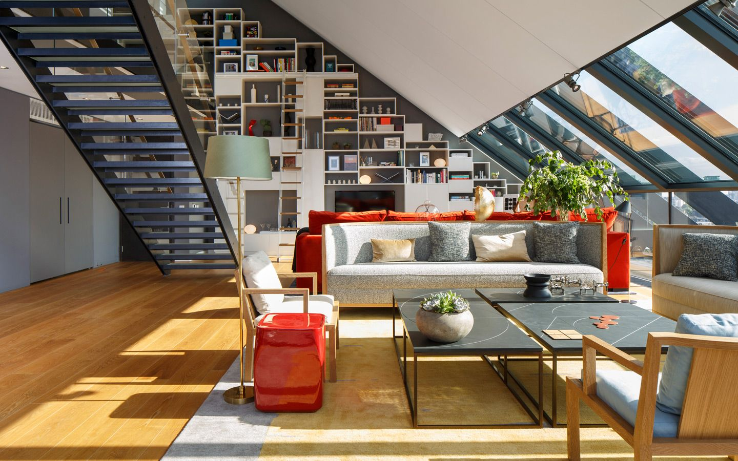The Penthouse at NEO Bankside in London | Rogers Stirk Harbour + ...