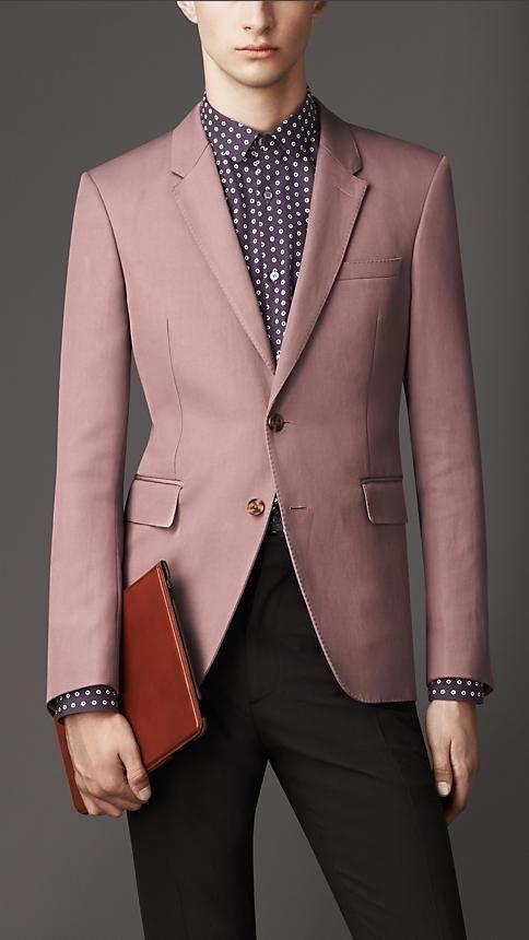 Burberry London Slim Fit Cotton-Ramie Twill Jacket | #StyLE ...