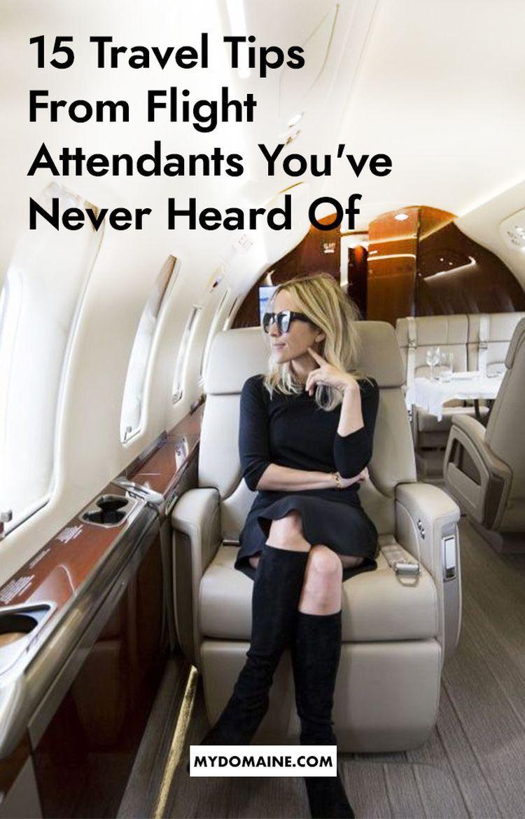 Die ersten 6 Things Flight Attendants Hinweis über Sie, wenn Sie