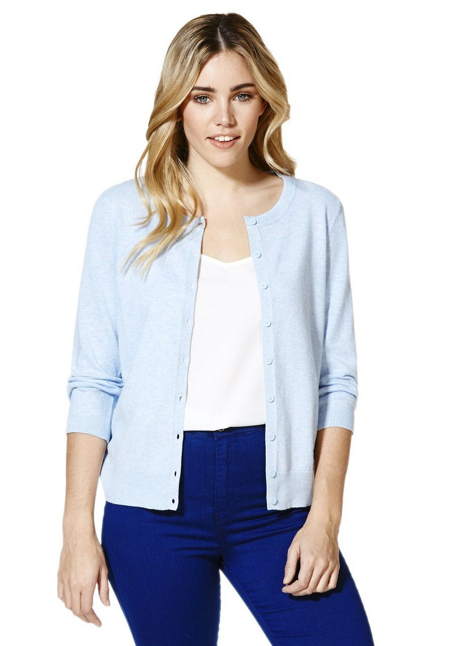 Clothing at Tesco | F&F Stretch Cardigan with As New Technology ...