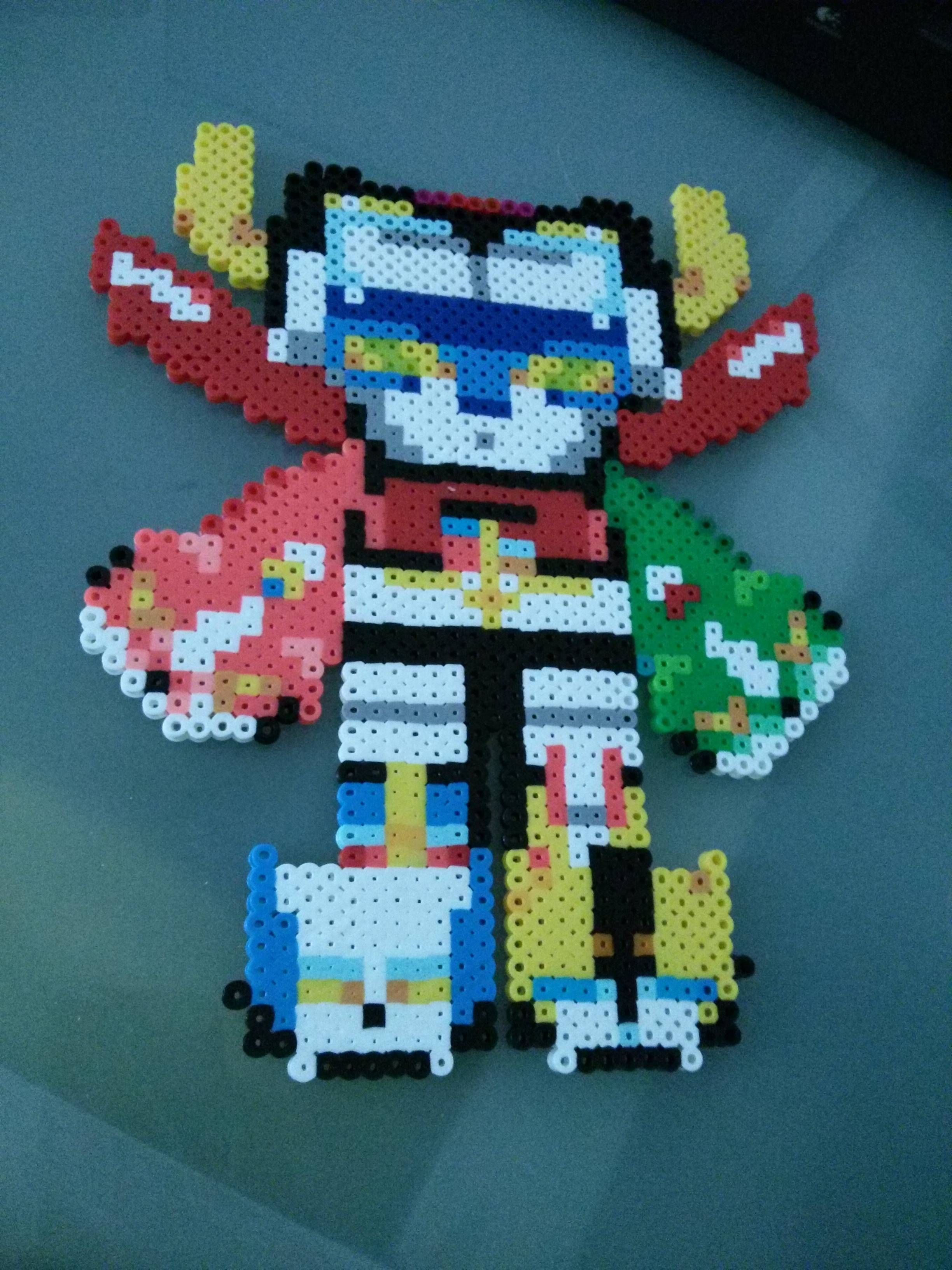 Voltron Force Hama Perler Beads Perler Crafts Anime Crafts
