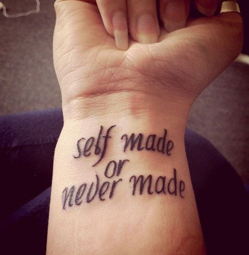 30 Sensational Short Tattoo Quotes