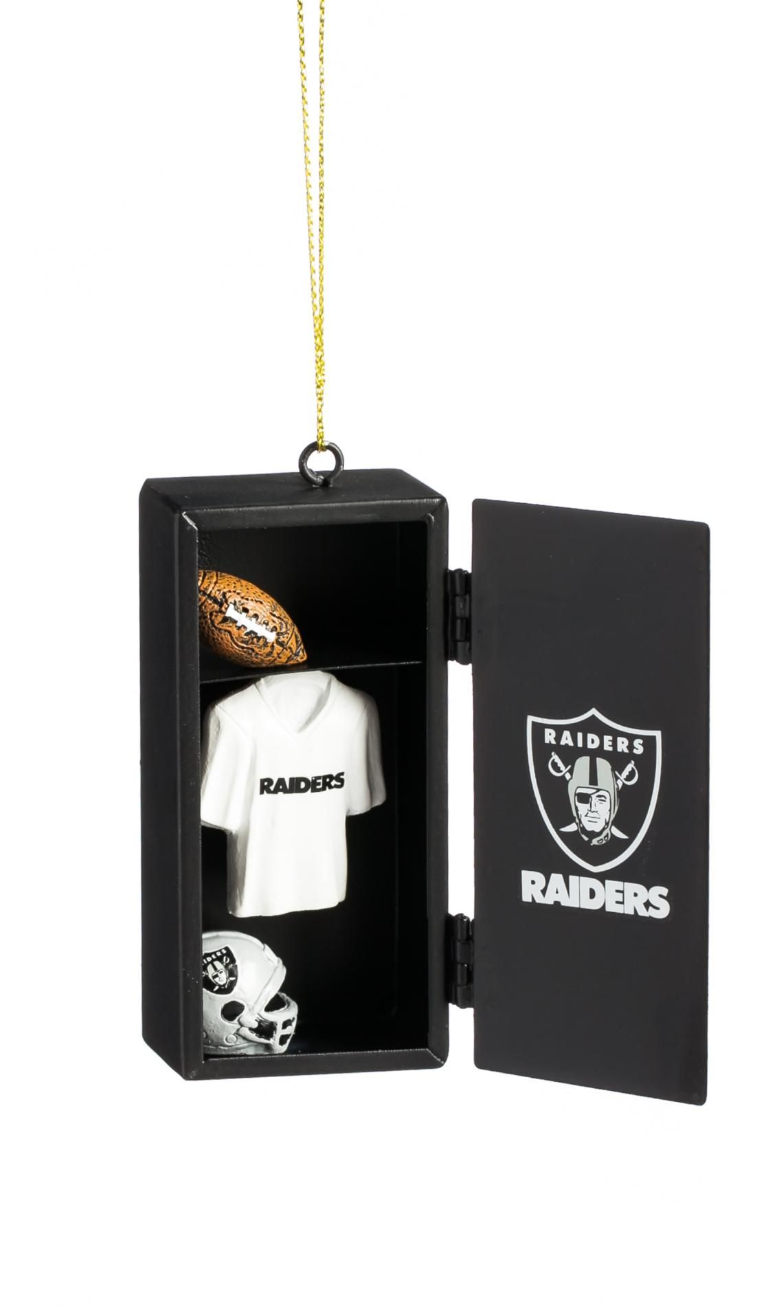 NFL Team Locker Christmas Ornament - Oakland Raiders | Christmas ...