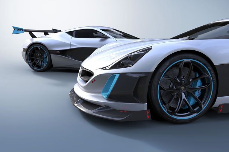Rimac Concept One Electric Hypercar Is Blazing Fast