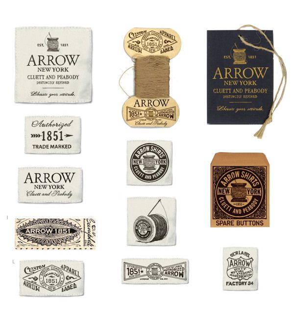 Arrow   Cluett Labels and Packaging