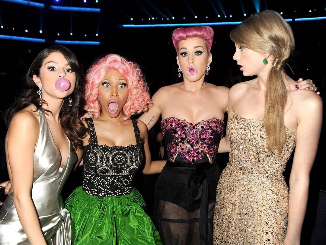 Katy Perry S New Song Swish Swish With Nicki Minaj Is Seemingly Full Of Taylor Swift Shade Including Reference Selena And Taylor Katy Perry News Katy Perry
