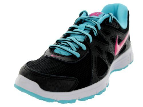 Nike Womenu0027s Revolution 2 Black/Vvd Pink/Plrzd Bl/White Running
