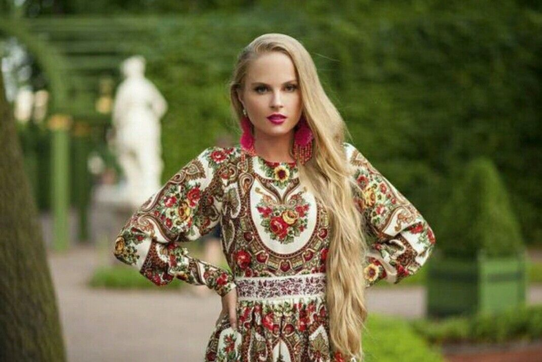 современный русский народный костюм фото популярным последнее время