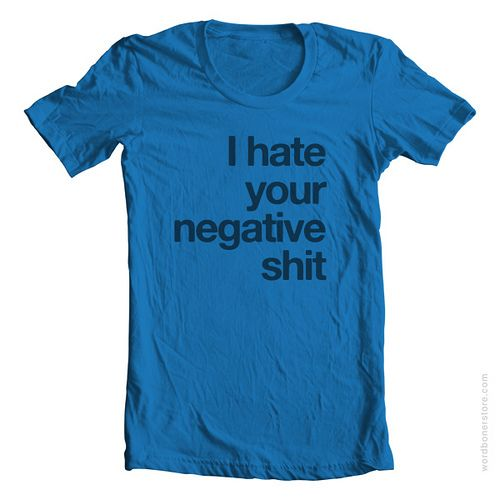 Why so negative?