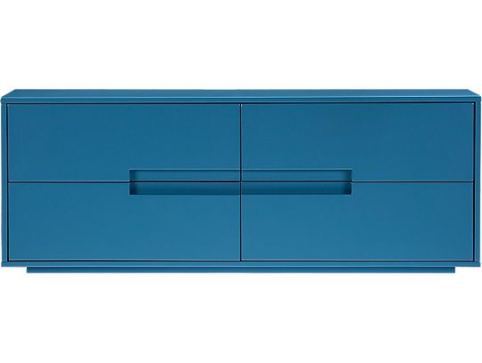 Latitude Slate Blue Low Dresser. www.LookNook.co