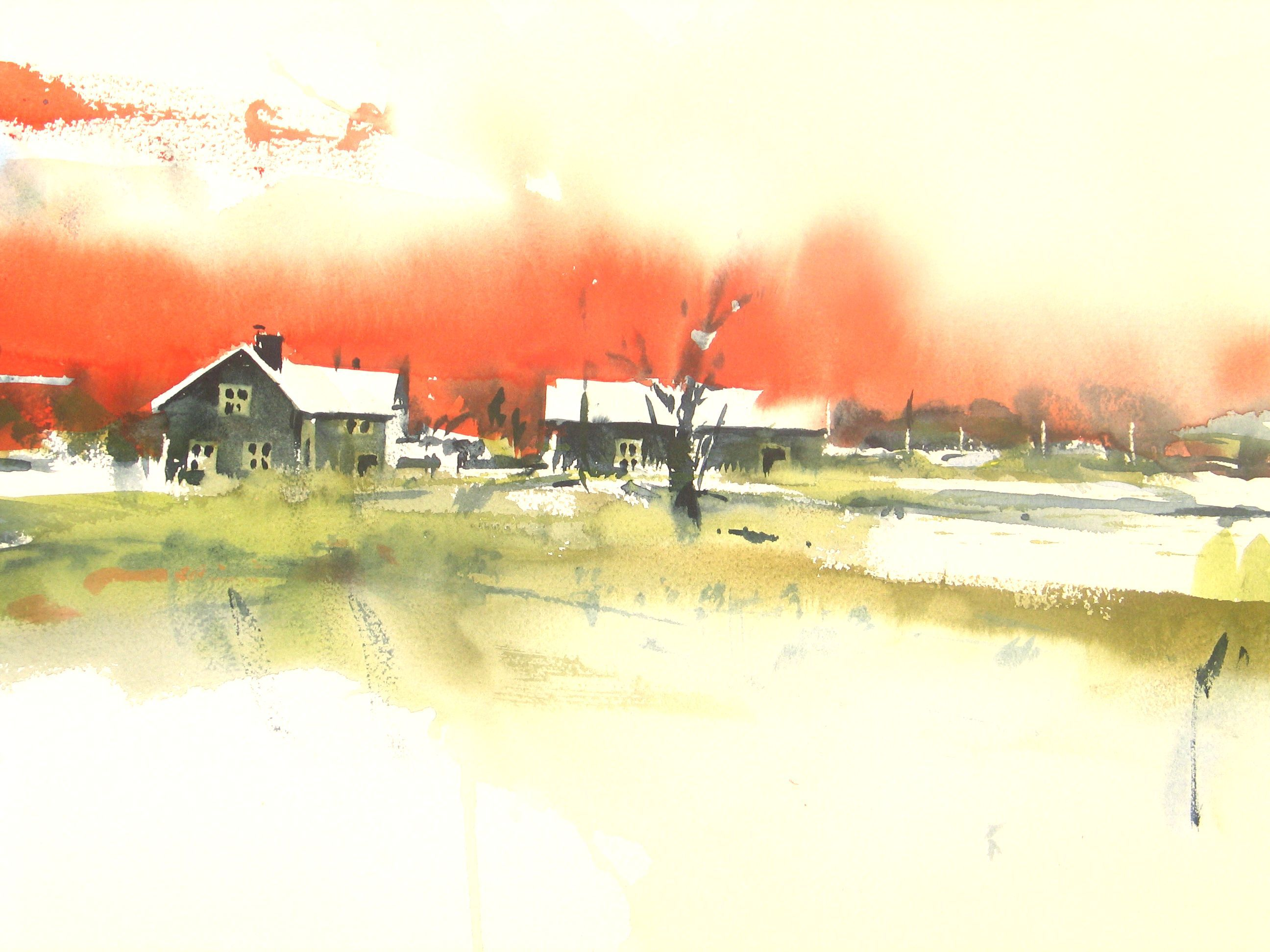 Lars A Persson #watercolor jd