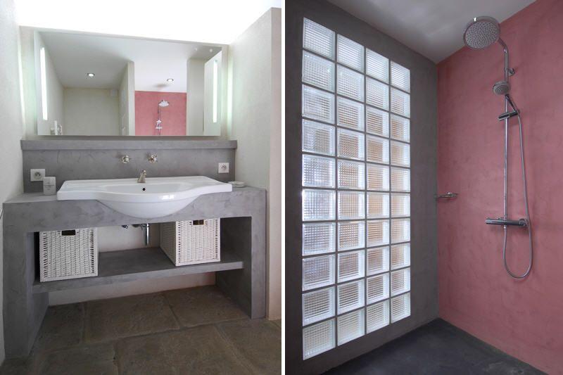 douche et vasque la magnanerie  Dco  Bathroom Bathtub et Room