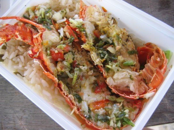 Guadeloupe langoustes guadeloupe pinterest lobster for Cuisine martinique