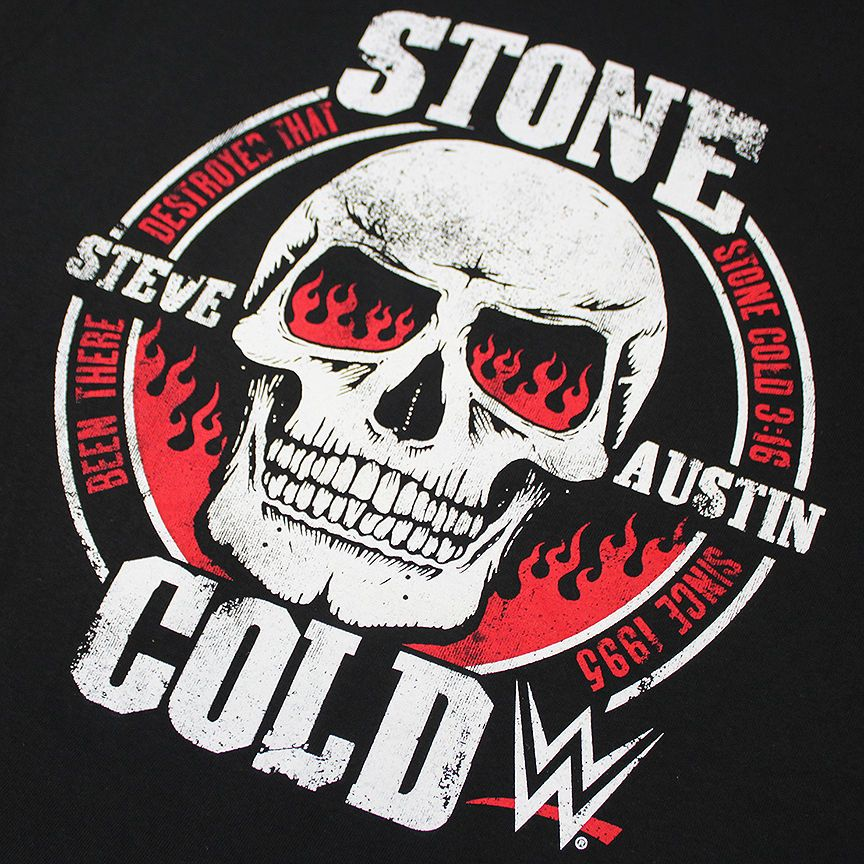 Wwe Stone Cold Steve Austin Been Here Since 1995 Skull T Shirt M Xxl Stone Cold Steve Steve Austin Stone Cold Stunner
