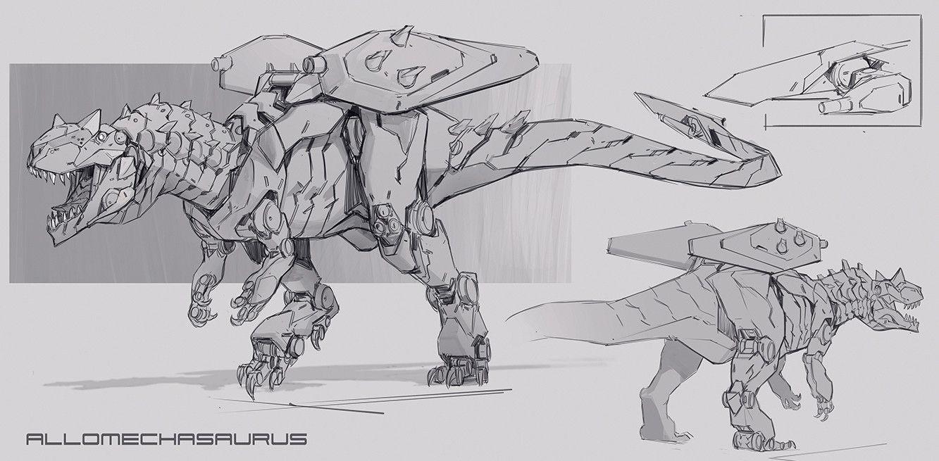таковым робот динозавр картинка рисунок любой день