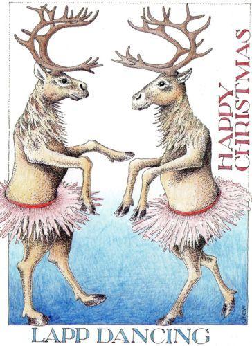 Simon Drew Christmas Card