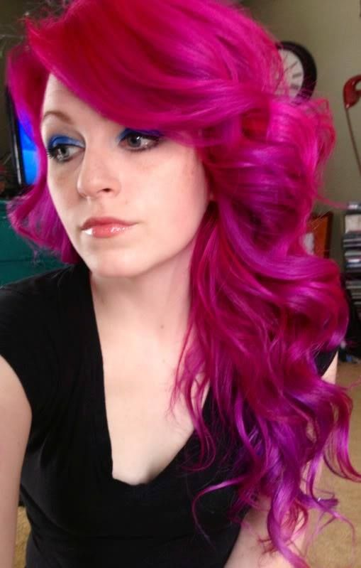 Hot Pink Hair Color Pictures