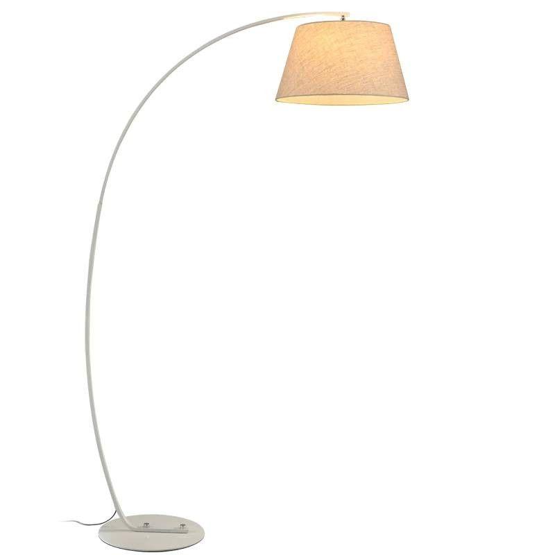 Modern Fishing Floor Lamp Black White Lampshade Twiggy Terra Floor Lamp Living Room Reading B In 2020 Lamps Living Room White Lamp Shade Home Improvement