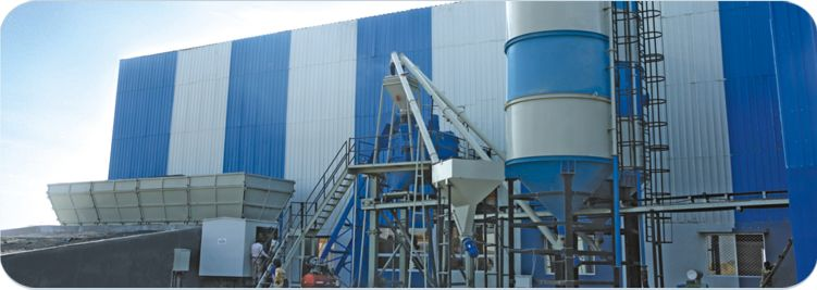 A batching plant or a concrete plant is big equipment that