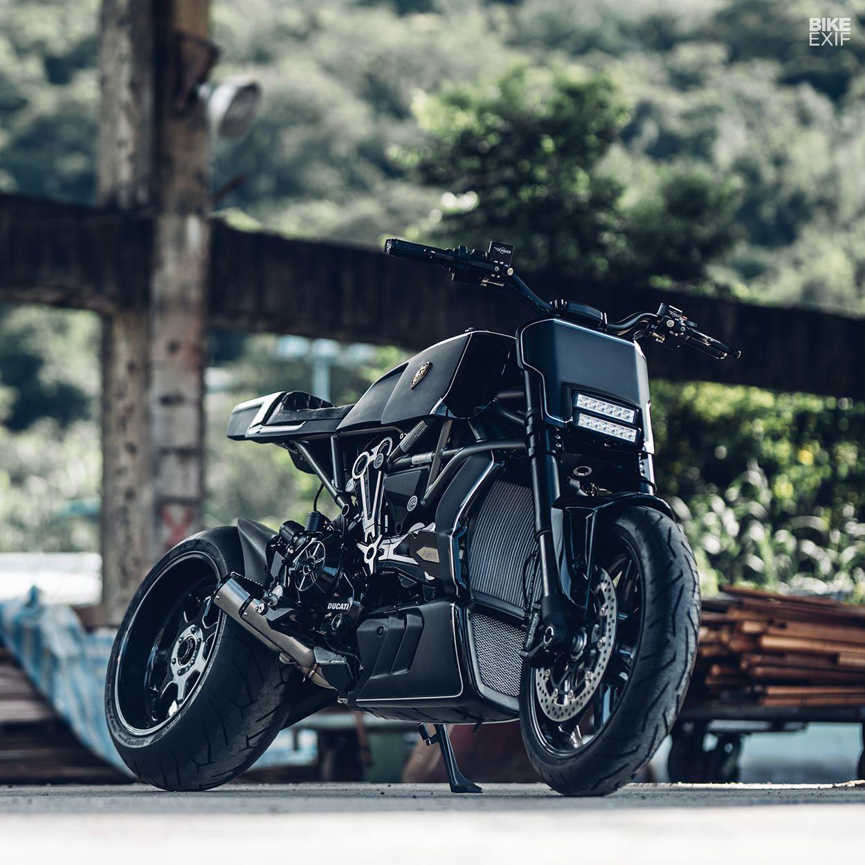 Tall Order Rough Crafts Bigger Badder Ducati Diavel Ducati
