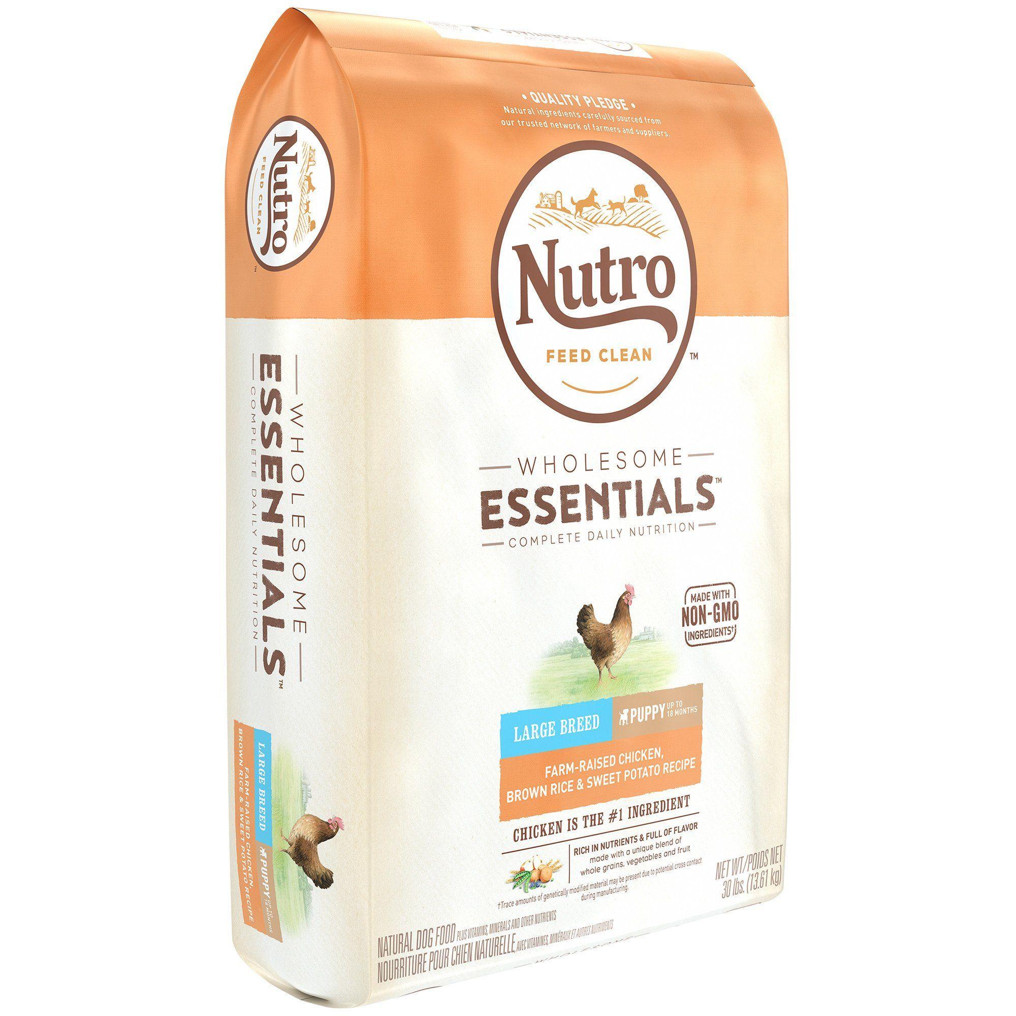 Nutro Wholesome Essentials Farm Raised Chicken Sweet Potato