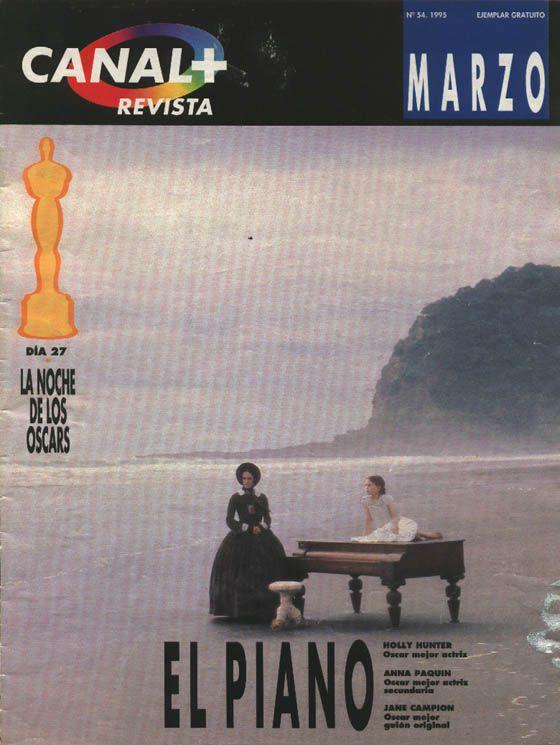 Portada de la revista de abonados de Canal+ (Marzo 1995)