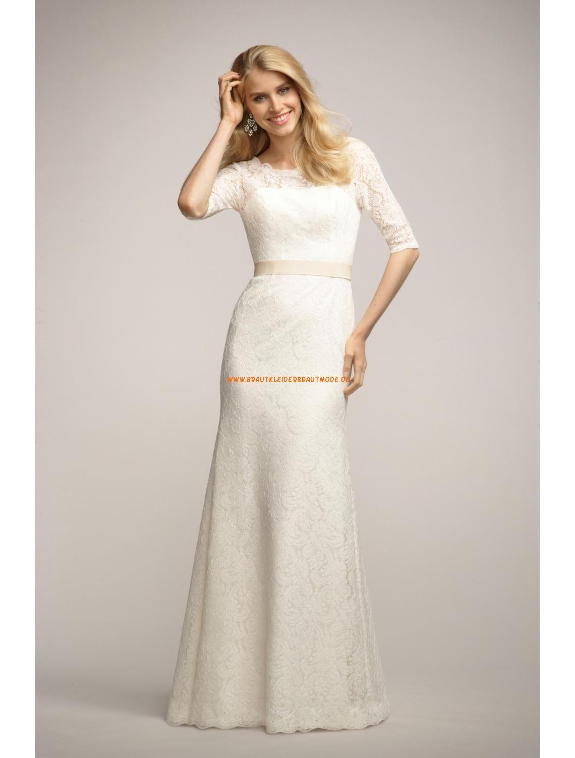 Watters Encore Elegante Süße Liebste Brautkleider aus Spitze