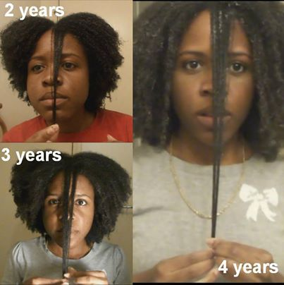 2 3 And 4 Year Natural Hair Growth Length Check Comparison Full Videos On My Youtube Channel Username Natural Hair Growth Hair Shrinkage Natural Hair Styles
