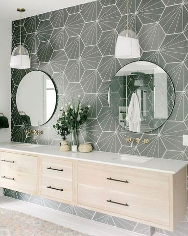 55 Stunning Farmhouse Bathroom Mirror Design Ideas And Decor - Googodecor