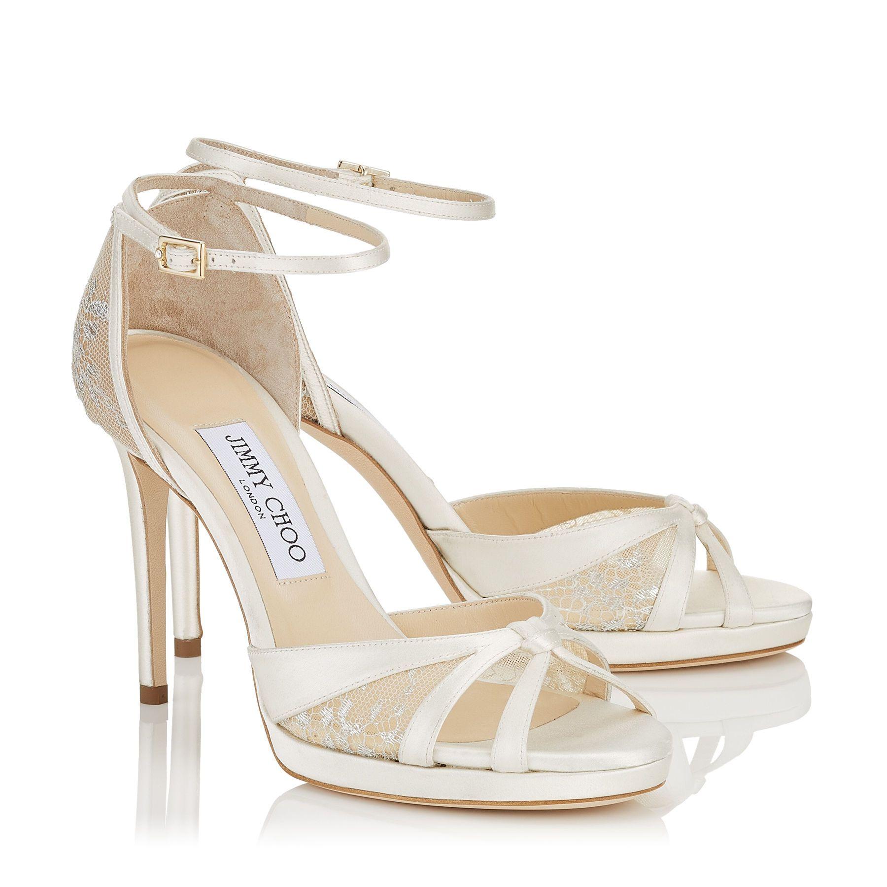 Jimmy Choo TALIA 100   Lace sandals