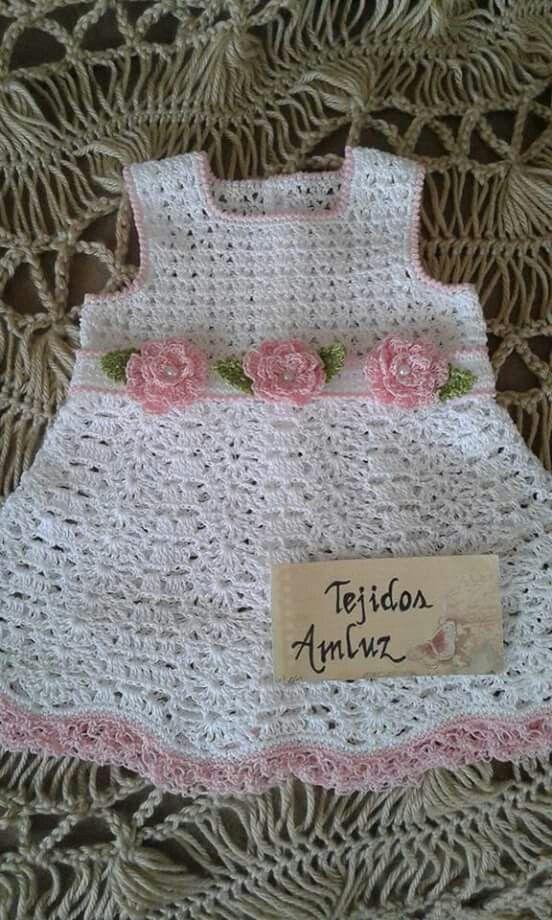 Zulma Diaz | vestidos x bebe | Pinterest | Niños tejiendo, Bebé y ...